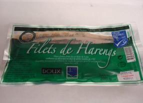FILETS DE HARENGS DOUX